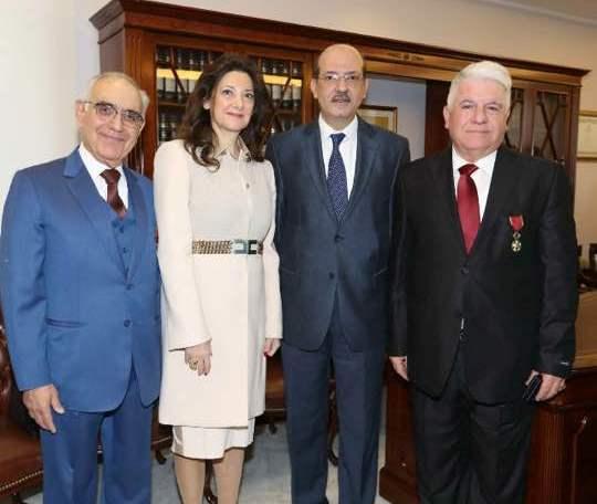 نقابة المحامين في بيروت تحتفل بالأعياد-1