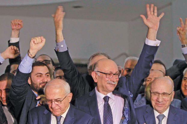 المحامي اندريه الشدياق نقيباً للمحامين في بيروت