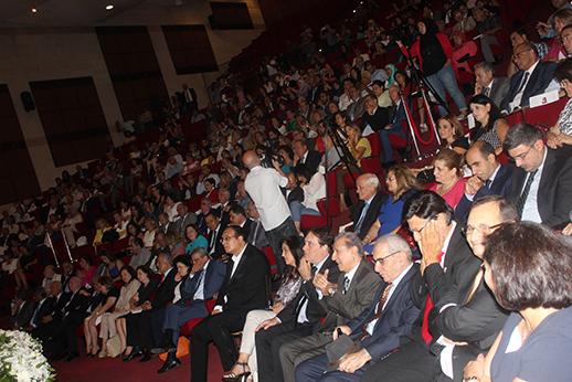 احتفال افتتاح العام الجامعيّ في الجامعة اللبنانيّة الحدث 2016-3