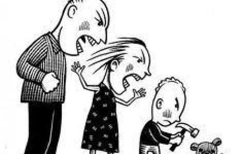 قانون العنف الأسري