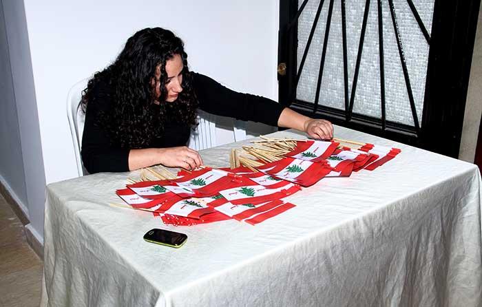 حركة لبنان الجديد صور سهرة الاستقلال-8