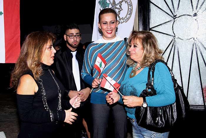 حركة لبنان الجديد صور سهرة الاستقلال-12