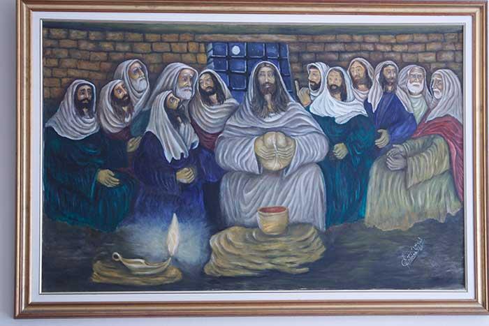 كنيسة سيدة البشارة العجائبية _ بعبدا-5