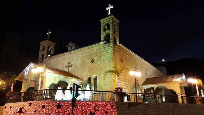 كنيسة مار جرجس الخريبة - الحدث-1