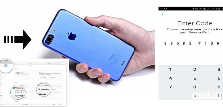 بالصور... طريقة نقل بياناتك من هاتفك القديم إلى هاتف آيفون 7 الجديد-3